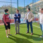 Inversión de 100.000 euros para las mejoras del Polideportivo de Chiguergue en Guía de Isora