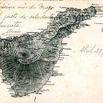 El Cabildo rescata una postal antigua de la isla de Tenerife
