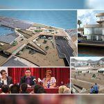 El 21 de Mayo de 2009 se presentó un megaproyecto para el Puerto de Los Cristianos
