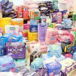 Finaliza con gran éxito la primera recogida de productos de higiene femenina en Adeje