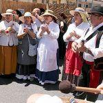 Artesanía, juegos, folclore y gastronomía en el 'Día de las Tradiciones' en San Isidro