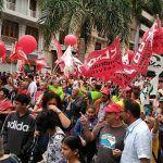 Los trabajadores canarios toman las calles para celebrar el 1 de mayo