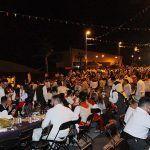 Varios miles de personas se dieron cita en el XVII Baile de Taifa en Granadilla de Abona