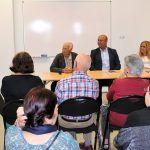 El SIEC de San Isidro acogió la presentación del libro sobre la familia Casanova