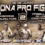 Gran velada de Kickboxing, K1 y Muay Thai en Los Cristianos