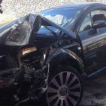 Bomberos de Tenerife intervienen en un accidente de tráfico en la capital tinerfeña
