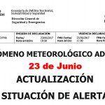 [Ca.alertas112] Actualización situación de alerta CC.AA. altas temperaturas