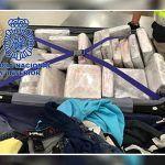 Incautan en Barajas 22 kilos de cocaína ocultos en una maleta con destino Canarias