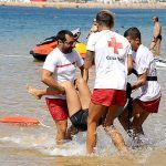 Cruz Roja está presente en 22 piscinas y playas del litoral de la provincia tinerfeña