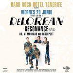 Hard Rock Hotel Tenerife recibe a Delorean el 23 de Junio