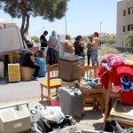 El Ayuntamiento de Granadilla busca soluciones para los desalojados del edificio en La Jurada