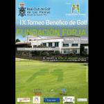 IX Torneo Benéfico de Golf de la Fundación Forja en el Campo de Bandama en Las Palmas