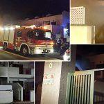 Policía Local de Arona salva la vida de una persona en un incendio en Costa del Silencio
