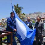 Entregan en Santiago del Teide las Banderas Azules a 49 playas y 5 puertos canarios