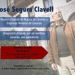 José Segura Clavell presenta sus dos últimos libros este viernes en el Cabildo de La Gomera