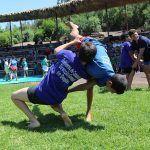 130 luchadores participaron en la exhibición de Lucha Canaria en Oasis Park Fuerteventura