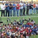 Balones de Oro para celebrar el Fútbol en Positivo en Granadilla