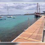Puertos invertirá más de 300.000 euros en mejoras en el puerto de Playa Blanca en Lanzarote