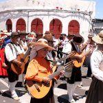 La romería de Granadilla sale a la calle en honor de San Antonio de Padua