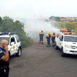 La seguridad en las hogueras de San Juan en San Miguel estuvo garantizada