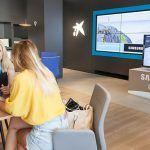 CaixaBank ha abierto en Los Cristianos «Store» un nuevo concepto de oficina