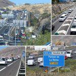 Insostenible el tráfico en la autopista del Sur