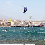 Resulta herido mientras practicaba windsurf en El Médano