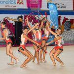 La final de gimnasia rítmica del Cabildo congrega a 300 deportistas en Granadilla