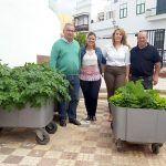 Alumnos del colegio San Miguel Arcángel ponen en marcha un huerto escolar ecológico