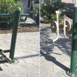 El ayuntamiento instala aparatos biosaludables adaptados en Las Chafiras