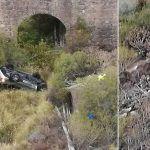 Dos heridos al caer su vehículo desde varios metros de altura en la TF-47 Playa Paraíso
