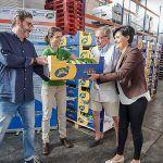 El Cabildo de  Tenerife y Asprocan entregan 9.700 kg de plátanos al Banco de Alimentos