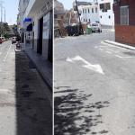 Comenzaron las obras de asfaltado de Guaza