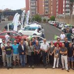 Una caravana de vehículos eléctricos recorrió la capital grancanaria