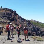 La actual emisión de CO2 por el volcán Cumbre Vieja en La Palma es de 800 toneladas diarias