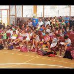 120 menores de San Miguel de Abona asisten a los cursos de natación