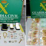Una mujer de 52 años de Los Gigantes detenida por hurto valorado en más de 7.000 euros