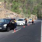 Informan en los accesos al monte en Tenerife sobre el riesgo de incendio forestal