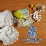 Lo detienen en Arona con 13 bolsas de cocaína, 4 bolsas de MDMA y 1 bolsa de marihuana