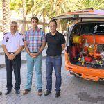 San Sebastián cuenta con un nuevo equipo para la extinción rápida de incendios urbanos