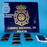 La Policía Nacional detiene en La Laguna a un hombre con 500 gramos de hachís