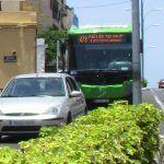 TITSA modifica el recorrido de las líneas 473, 477, 493 y 494 por las fiestas de Playa San Juan