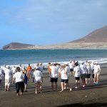Mayores y usuarios de Amisur en San Miguel disfrutarán de la programación de playa 2017