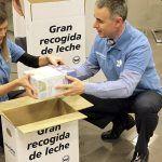 JSP dona 525 litros de leche para la campaña «Ningún niño sin bigote»