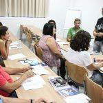 La Universidad de Verano de Adeje impartió varios talleres sobre aprendizaje, conocimiento y creatividad