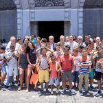 Un centenar de niños saharauis que pasan sus vacaciones en Tenerife