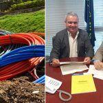 El despliegue de la fibra óptica en San Miguel de Abona avanza a buen ritmo