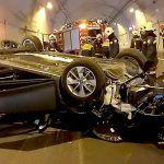 Bomberos intervienen en un accidente de tráfico en el túnel El Bicho y otras actuaciones en la isla