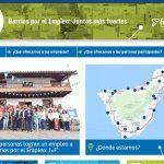 Renuevan la página web del proyecto 'Barrios por el Empleo: Juntos más Fuertes'