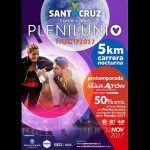 Plenilunio, la carrera nocturna más divertida del año en Santa Cruz, abre su inscripción
